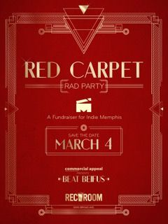 RED CARPET PARTY benefitting Indie Memphis