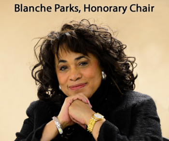 Blanche Parks Honorary Chair Rotary District Governor Elect